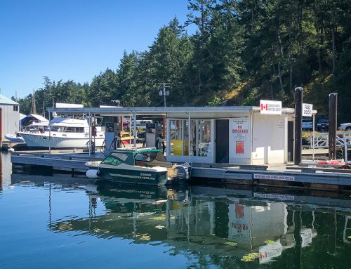 Canoe Cove Fuel Dock Sets Sail for North Saanich Marina