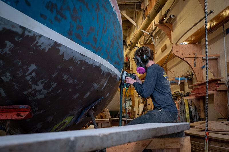 Canoe Cove Marina Boat Maintenance - Gallery