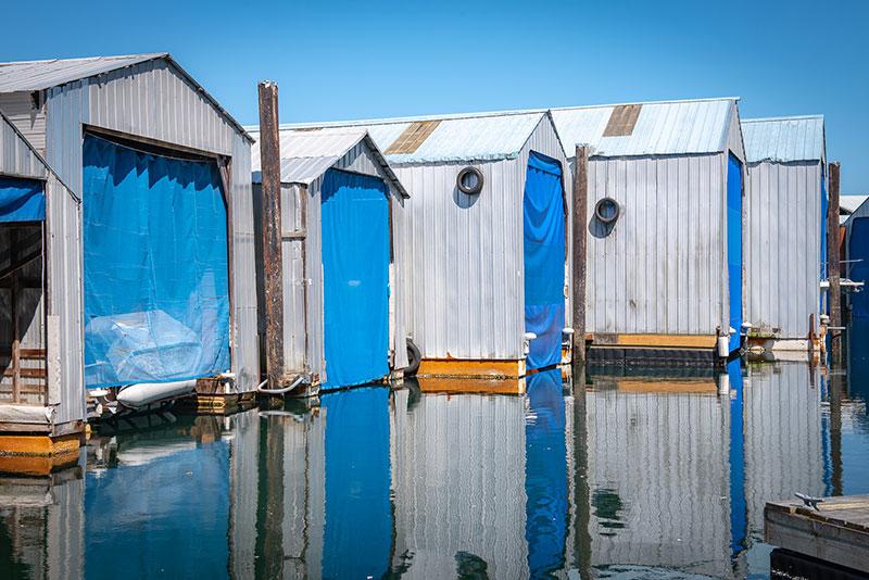 Canoe Cove Boathouses - Gallery