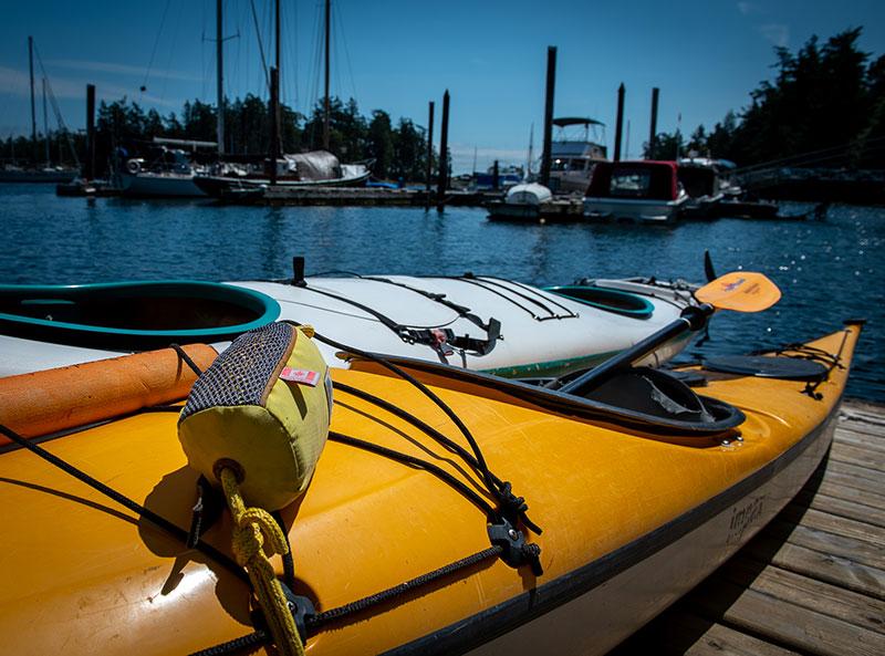 Kayaking at Canoe Cove Marina - Gallery