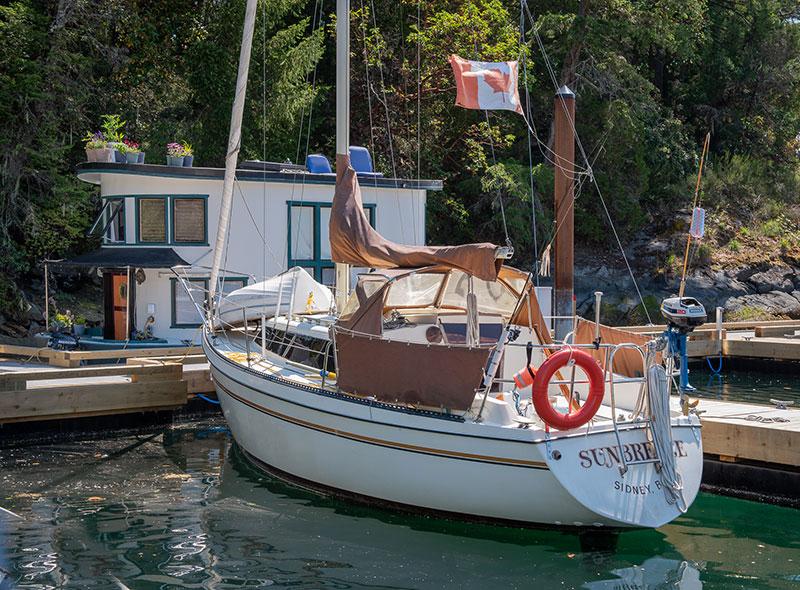 Canoe Cove Sailboat - Gallery
