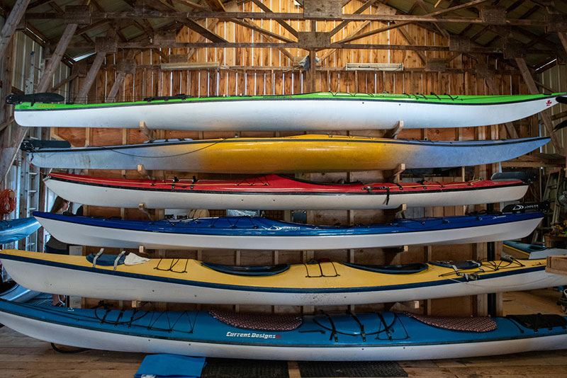 Canoe Cove Marina Kayaks - Gallery